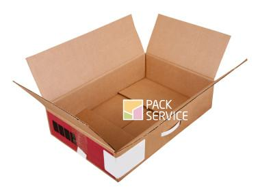 cardboard box. Isolated over white