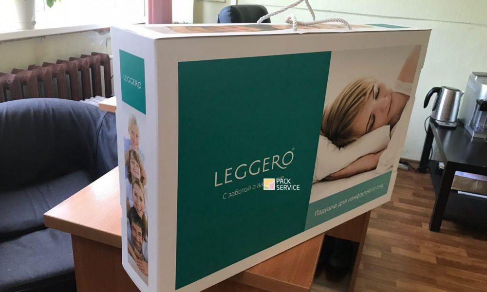 Леггеро подушка ортопедическая